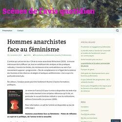 Hommes anarchistes face au féminisme