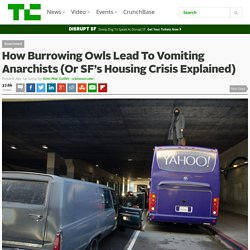 How Burrowing Owls Lead To Vomiting Anarchists (Or SF's Housing Crisis Explained)