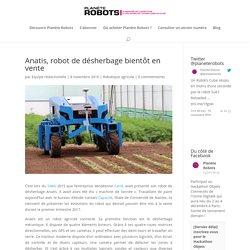 Anatis, robot de désherbage bientôt en vente
