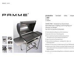 Der PAMME-Grill