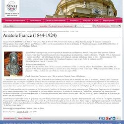 Anatole France- Sénat