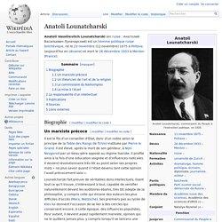 Anatoli Lounatcharski