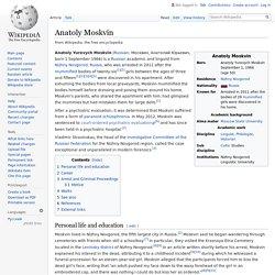 Anatoly Moskvin - Wikipedia