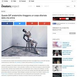 Queste GIF anatomiche ritraggono un corpo dilaniato dalla vita online