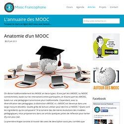 Anatomie d'un MOOC