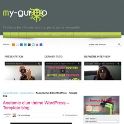 Anatomie d'un thème WordPress - Template blog