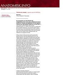 RA : Théories du complot - ANATOMISK