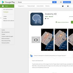 Anatomy 4D - Apps en GooglePlay