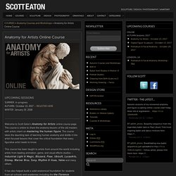 Anatomy for Artists Online Course