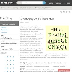 Anatomy of a Character - Fonts.com - Fonts.com
