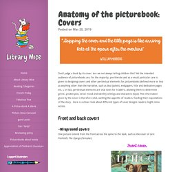 Anatomy of the picturebook: Covers