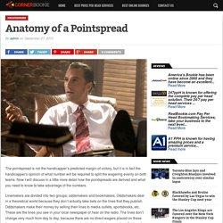 Anatomy of a Pointspread - Corner Bookie
