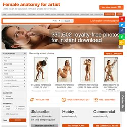 Female Anatomy for Artist - Ultra-high resolution female photo references – Female-Anatomy-for-Artist.com