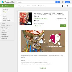 AnatomyLearning - 3D Atlas - Android Apps on Google Play