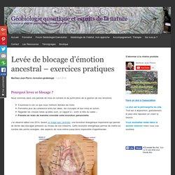 Levée de blocage d'émotion ancestral – exercices pratiques