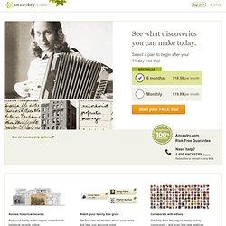 - Ancestry.com