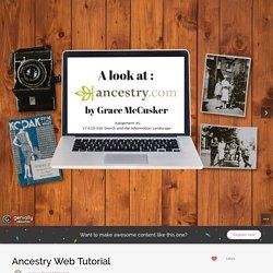 Ancestry Web Tutorial (Grace)