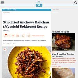 Banchan d'anchois