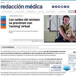 Las caídas del anciano se previenen con 'running' virtual