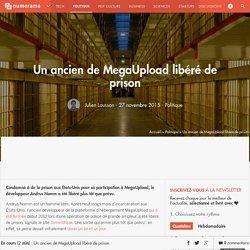 Un ancien de MegaUpload libéré de prison