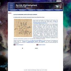 La plus ancienne carte d'étoiles connue