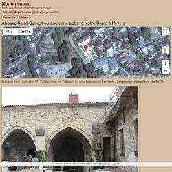 Abbaye Saint-Genest ou ancienne abbaye Notre-Dame à Nevers - PA00112935 - Monumentum