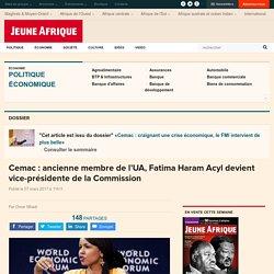 Cemac : ancienne membre de l'UA, Fatima Haram Acyl devient vice-présidente de la Commission