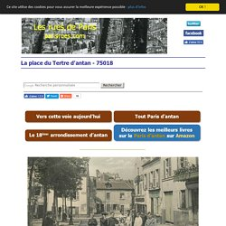 Les anciennes rues de Paris