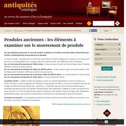 Pendules anciennes : roue de compte, platine et timbre de sonnerie composent le mouvement de pendule - antiquités-catalogue