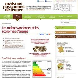 Les maisons anciennes et les économies d'énergie - Maisons Paysannes de France
