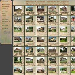 Maisons anciennes, immobilier vente achat, fermettes, maisons de pays, Perche, Drouais, longères à l'ouest de l'île de France, Thymerais, Pays d'Avre et d'Iton. Les belles demeures d'autrefois.