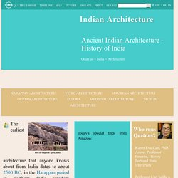 Ancient Indian Architecture - History of India - Quatr.us