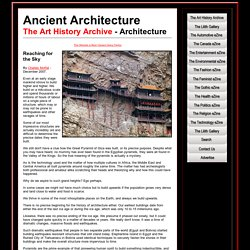 Ancient Architecture of the World - The History of Architecture
