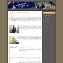 Australian History : Convicts