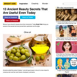 13Ancient Beauty Secrets That Are Useful Even Today