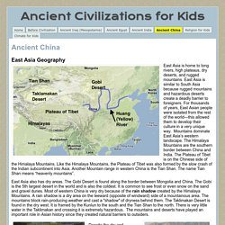 Ancient China - Ancient Civilizations