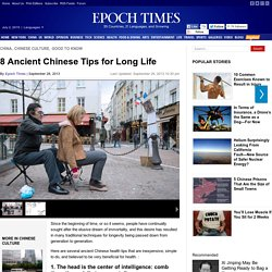 8 Ancient Chinese Tips for Long Life