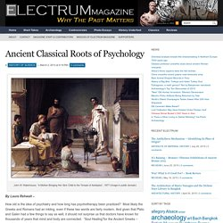 Ancient Classical Roots of Psychology