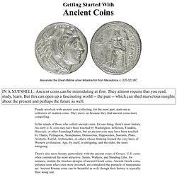 Ancient Coins - Ancient Coin Collecting - Collecting Ancient Coins