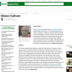 Ancient Olmec Culture in Latin American History