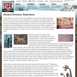 Ancient Dinosaur Depictions