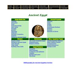 Ancient Egypt Culture