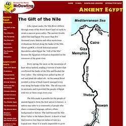 Ancient Egypt at mrdowling.com
