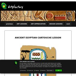 Ancient Egyptian Cartouche Lesson