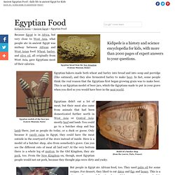 Ancient Egyptian Food - Ancient Egypt for Kids!