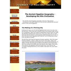 Facts About Ancient Egyptian Geography