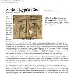 Ancient Egyptian Gods - Ancient Egypt for Kids!