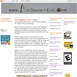 Art Smarts 4 Kids: Ancient Egyptian Art, Part 1- Painting