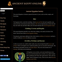 Ancient Egyptian Society