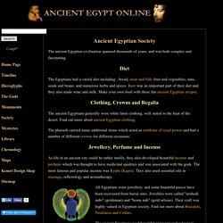Ancient Egyptian Society